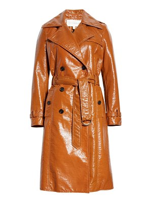Veronica Beard finnick coated trench coat