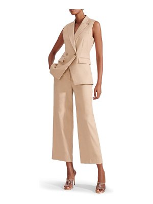 Veronica Beard hunter crop wide leg pants