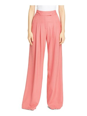 Veronica Beard noel pleated wide leg pants