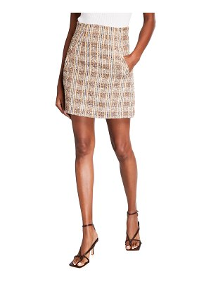Veronica Beard Roman Plaid Skirt