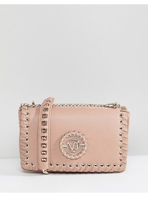 VERSACE Jeans Lace Up Crossbody Bag