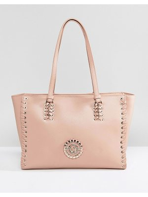 Versace Jeans Lace Up Tote with VJ Logo