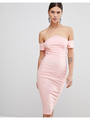 Vesper bardot pencil dress