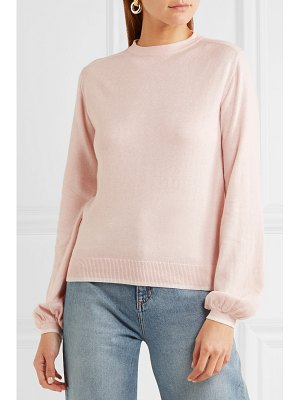 VICTOR GLEMAUD cutout cotton-blend sweater