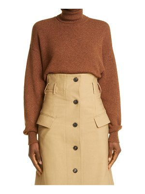 Victoria Beckham cashmere blend turtleneck sweater