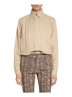 Victoria Beckham Fluid Canvas Drill Blouse