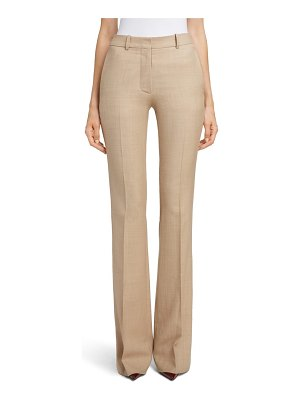 Victoria Beckham high waist flare wool pants