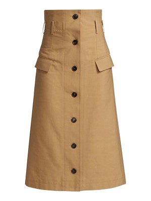 Victoria Beckham high waisted flare skirt