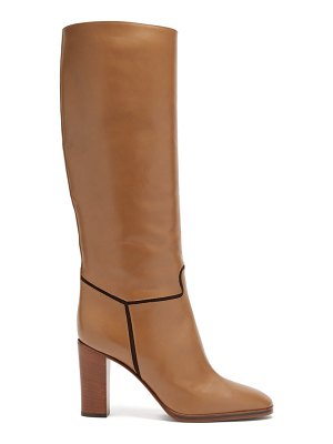 Victoria Beckham piped knee-high leather boots