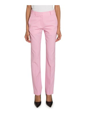 Victoria Beckham Slim-Leg Wool Stretch-Tech Trousers