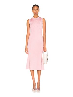 Victoria Beckham tromp l'oeil flared dress
