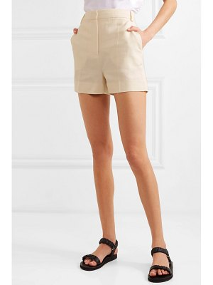 Victoria by Victoria Beckham canvas shorts