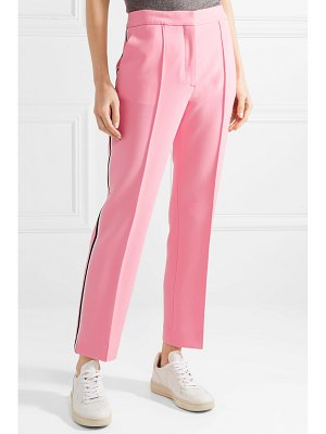 Victoria by Victoria Beckham cropped woven slim-leg pants