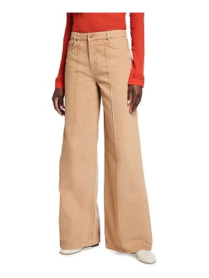 Victoria by Victoria Beckham Exaggerated Wide-Leg Jeans