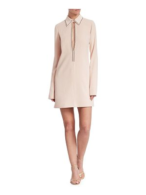 Victoria by Victoria Beckham open front shift dress