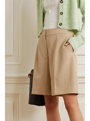 Victoria by Victoria Beckham pleated twill shorts
