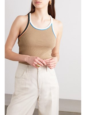 Victoria by Victoria Beckham ribbed cotton-jersey tank