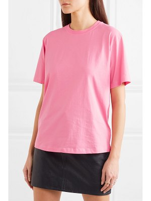 Victoria by Victoria Beckham the victoria cotton-jersey t-shirt