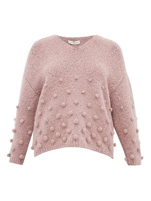VIKA GAZINSKAYA oversized bobble-stitch sweater