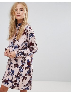 Vila floral print shift dress