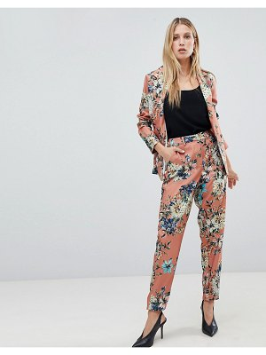 Vila floral suit pants