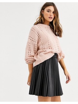 Vila open stitch sweater