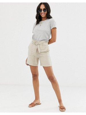 Vila utility short with tie waist