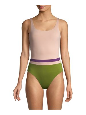 Vilebrequin colorblock one-piece swimsuit