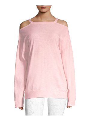 Vimmia repose cold shoulder pullover