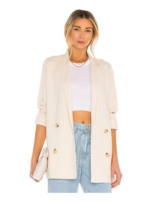 Vince belted sweater coat