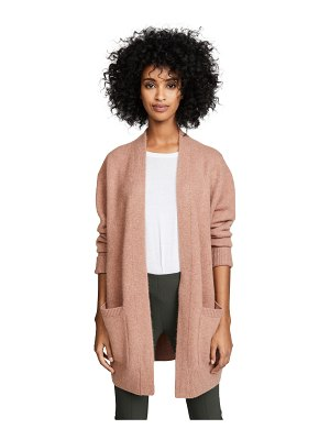 Vince boiled cashmere cardigan