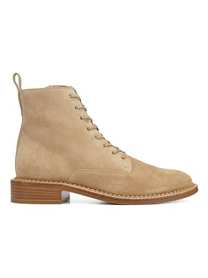 Vince cabria suede combat boots