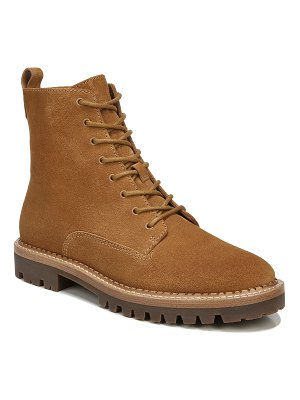 Vince Cabria Suede Water-Repellant Combat Boots