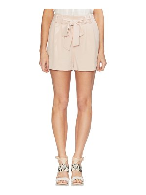 Vince Camuto belted high waist shorts
