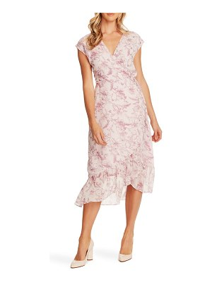 Vince Camuto botanical breeze faux wrap dress