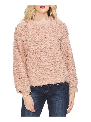 Vince Camuto bubble sleeve popcorn knit top