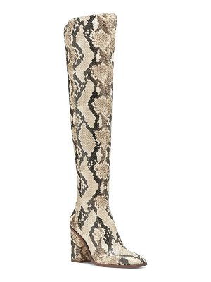 Vince Camuto dreven over the knee boot