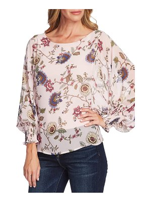 Vince Camuto floral batwing sleeve blouse
