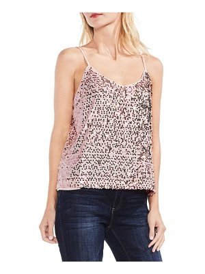 VINCE CAMUTO Mini Paillette Sequin Tank