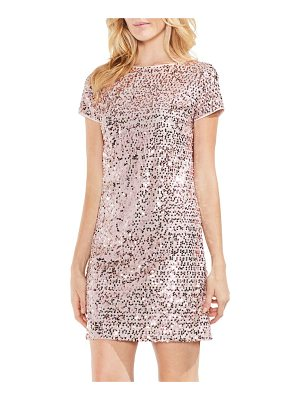 VINCE CAMUTO Paillette Sequin Minidress