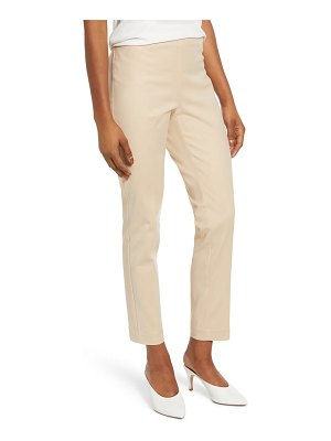 Vince Camuto side zip stretch cotton blend pants