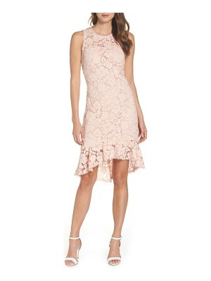 Vince Camuto sleeveless lace sheath dress