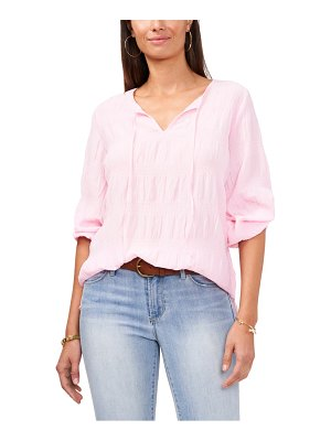 Vince Camuto smocked blouse