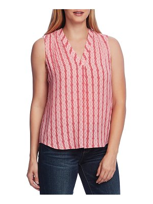 Vince Camuto starburst stripe sleeveless top