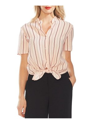 Vince Camuto stripe button front shirt