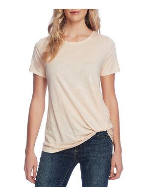 Vince Camuto twist hem knit top