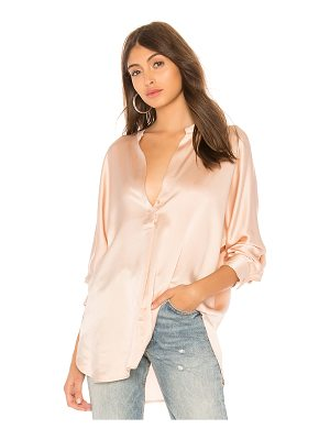 Vince Collar Band Blouse
