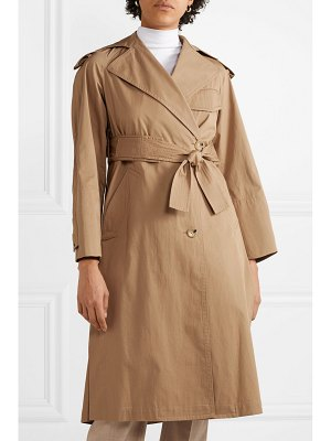 Vince cotton-canvas trench coat