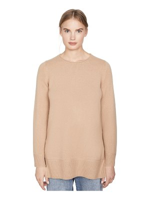 Vince crew neck cashmere tunic sweater