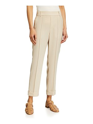 Vince Cuffed Tapered Pull-On Pants